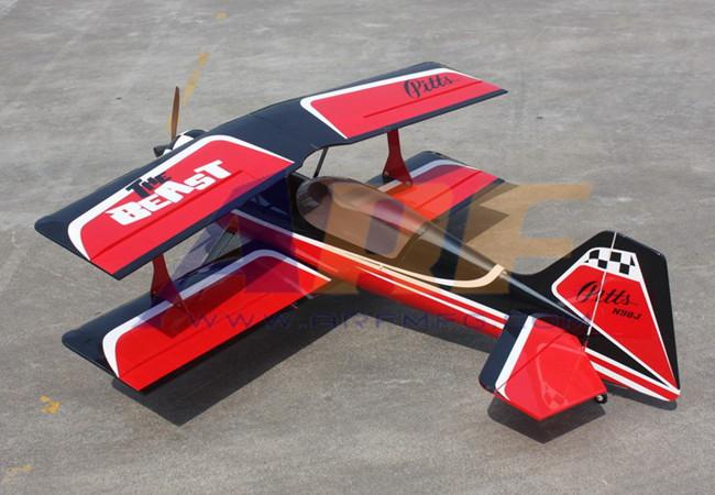Mile High Rc 30cc Pitts Python Gold Wing Rc Eg Aircraft