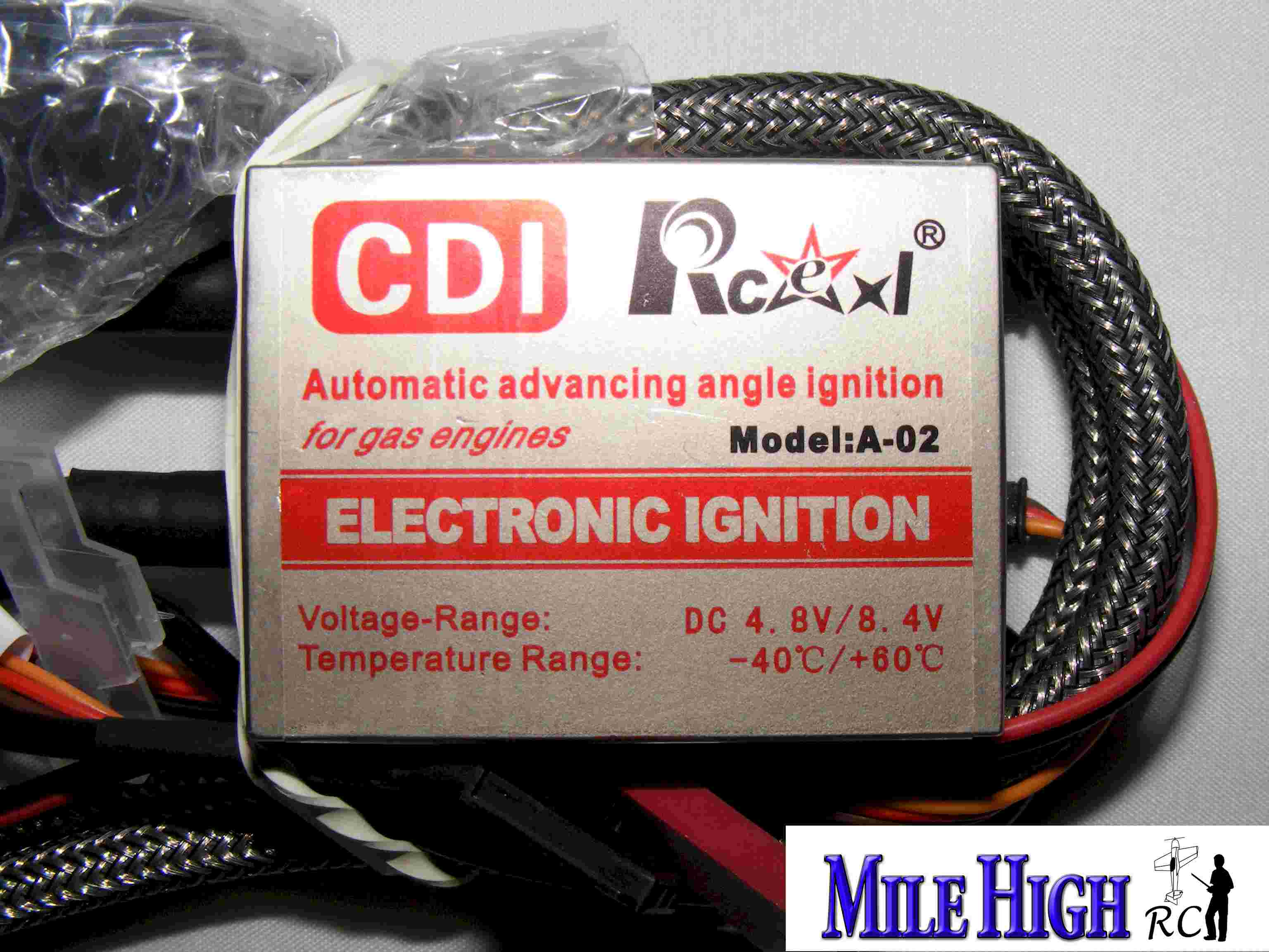 High Voltage Rcexl ignition CM6