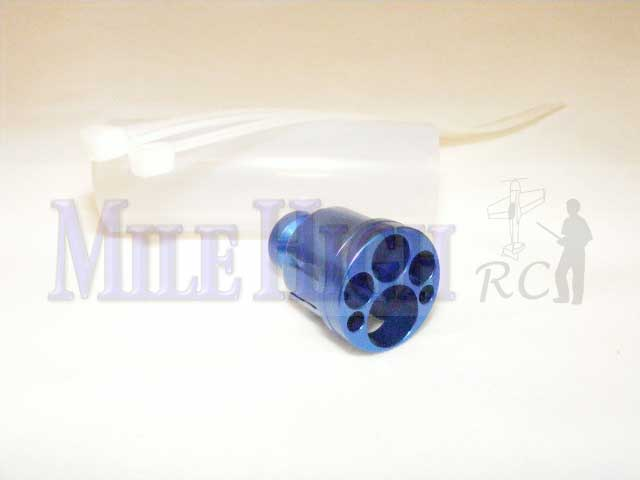 Muffler Silencer for the Stock DLE-20 and DLE-35RA RC Model Gas Engine Muffler - Purchase 2 for DLE-35RA